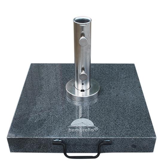 Schirmständer 50 Kg : 50 kg dunkelgrauer granit schirmst nder mit premium r hre bambrella germany ~ Watch28wear.com Haus und Dekorationen